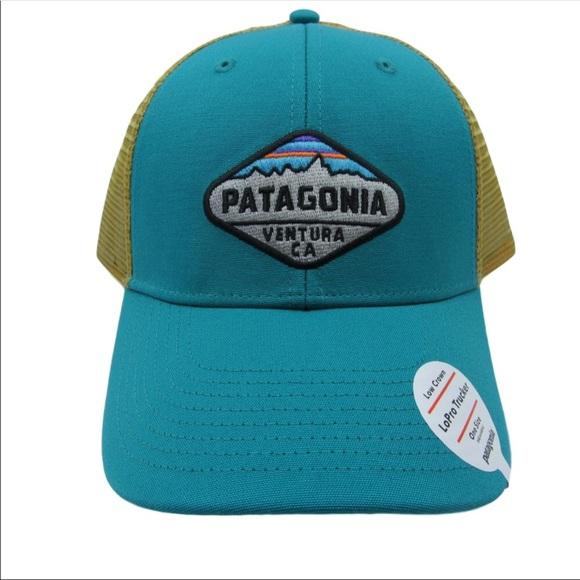 e2b3d7e8387 Patagonia Fitz Roy Crest Lo Pro Trucker Hat Cap